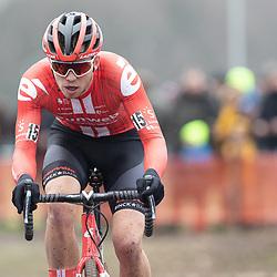 12-01-2020: Wielrennen: NK Veldrijden: Rucphen <br />Joris Nieuwenhuis