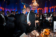 PATRICK COX; WILLIAM CASH, Grey Goose character and cocktails. The Elton John Aids Foundation Winter Ball. off Nine Elms Lane. London SW8. 30 October 2010. -DO NOT ARCHIVE-© Copyright Photograph by Dafydd Jones. 248 Clapham Rd. London SW9 0PZ. Tel 0207 820 0771. www.dafjones.com.