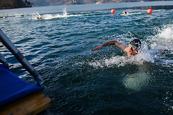 Bled trophy in winter swimming in lake Bled on 18th of February, 2017, Bled, Slovenia. Photo by Grega Valancic / Sportida