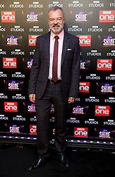 Presenter Graham Norton attends the launch of the new BBC One Saturday night entertainment show, Let it Shine, at the Ham Yard Hotel, London.