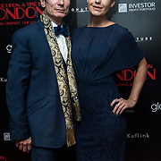 Dominic Keating  Arrivers at Once Upon a Time in London - London premiere of the rise and fall of a nationwide criminal empire that paved the way for notorious London gangsters the Kray Twins and the Richardsons at The Troxy 490 Commercial Road, on 15 April 2019, London, UK.