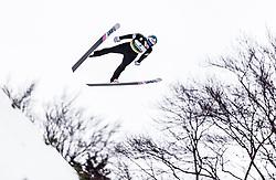 01.02.2019, Heini Klopfer Skiflugschanze, Oberstdorf, GER, FIS Weltcup Skiflug, Oberstdorf, im Bild Antti Aalto (FIN) // Antti Aalto of Finland during the FIS Ski Jumping World Cup at the Heini Klopfer Skiflugschanze in Oberstdorf, Germany on 2019/02/01. EXPA Pictures © 2019, PhotoCredit: EXPA/ JFK