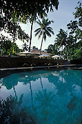 Swimming pool of the Dutch House boutique hotel in Galle...The Galle Fort, a World Heritage site, now has many well restored buildings.