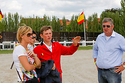 Verlooy Axel, Nena and Jos (BEL)<br /> European Championship Childern - Moorsele 2009<br /> © Hippo Foto - Dirk Caremans