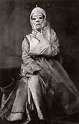 Bertholt Brecht (1898-1956) German playwright and poet. Production of his play 'The Caucasian Chalk Circle' by the Berliner Ensemble.  Helene Weigel as the Governor's wife.