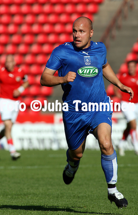 02.07.2006, Ratina, Tampere, Finland..UEFA Intertoto Cup 2006.Tampere United - Kalmar FF.Ville Lehtinen - TamU.©Juha Tamminen.....ARK:k