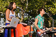 Photos of the band St. Lucia performing at Central Park Summerstage, NYC. July 16, 2012. Copyright © 2012 Matthew Eisman. All Rights Reserved.