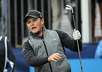 Golf - 2018 Sky Sports British Masters - Sunday, Fourth Round<br /> <br /> Eddie Pepperell of England, at Walton Heath Golf Club.<br /> <br /> COLORSPORT/ANDREW COWIE