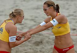 21-08-2005: BEACHVOLLEYBAL: NEDERLANDS KAMPIOENSCHAP: SCHEVENINGEN<br /> <br /> <br /> <br /> ©2005-WWW.FOTOHOOGENDOORN.NL
