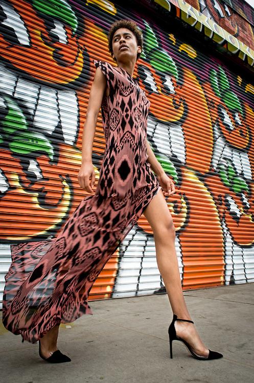 Iman Mariah. Brooklyn, New York.