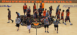 UPike Men's head basketball coach Kelly Wells underwent a second kidney transplant after having his first one for ten years. <br /> <br /> Wells suffers from a Kidney disorder called Berger's Disease. His new functioning kidney was donated by his brother-in-law. <br /> <br /> Wells and his family both on and off the court were photographed , Wednesday, Sept. 24, 2014 at the Eastern Kentucky Expo Center and The Wells Home in Pikeville. Photo by Jonathan Palmer, Special to the CJ