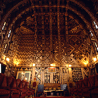 Throne Room w/Vaulted Ceiling, Kano Palace, Nigeria