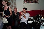 JUSTIN PORTMAN, Prada Congo Benefit party. Double Club. Torrens Place. Angel. London. 2 July 2009.