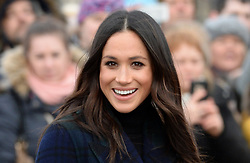 Meghan Markle during a Royal engagement in Edinburgh. Photo credit should read: Doug Peters/EMPICS Entertainment
