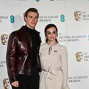 Will Poulter, Hayley Squires attends the EE BAFTA Film Awards Nominations Announcement on 9 january 2019, london, UK.