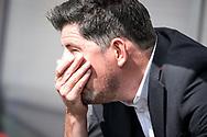 20-08-2017: Voetbal: FC Utrecht v Willem ll: Utrecht<br /> <br /> (L-R) Coach Erwin van de Looi van Willem II tijdens het Eredivisie duel tussen FC Utrecht en Willem II op 20 augustus 2017 in stadion Galgenwaard te Utrecht<br /> <br /> Eredivisie - Seizoen 2017 / 2018 (speelronde 2)<br /> <br /> Foto: Gertjan Kooij