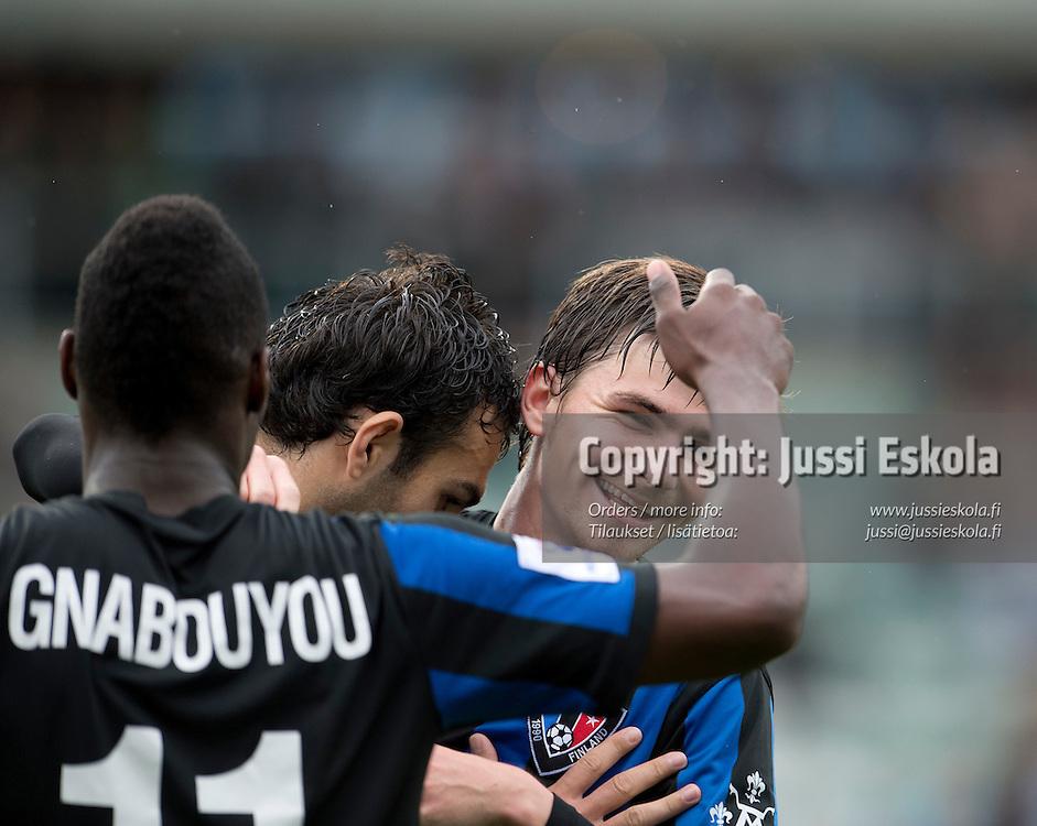 Pim Bouwman. Inter - JJK. Veikkausliiga. Turku 15.7.2012. Photo: Jussi Eskola