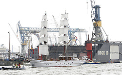 09.05.2013, Hafen, Hamburg, GER, 824. Hafengeburtstag Hamburg, Einlaufparade, im Bild Aphrodite,  // during the opening parade of the 824th Hamburg Harbour Birthday, Germany on 2013/05/09. EXPA Pictures © 2013, PhotoCredit: EXPA/ Eibner/ Andre Latendorf..***** ATTENTION - OUT OF GER *****