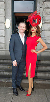 03/08/2017   Repro free   Brian Hade  and Maksuda Ahter from Dublin at Hotel Meyrick for Galway's 'Most Stylish Lady' Competition, at a glamorous evening reception in the Parlour Lounge of Hotel Meyrick on Ladies Day of the Galway Races. Head judge this year was the stunning Lorraine Keane,  assisted by fellow fashion experts Mandy Maher owner of Catwalk Modelling Agency and Irish model, Mary Lee.  Photo: Andrew Downes, xposure
