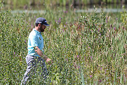 September 2, 2018 - Norton, Massachusetts, United States - Louis Oosthuizen walks the 8th hole during the third round of the Dell Technologies Championship. (Credit Image: © Debby Wong/ZUMA Wire)