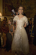 LILY COLLINS, Crillon Debutante Ball 2007,  Crillon Hotel Paris. 24 November 2007. -DO NOT ARCHIVE-© Copyright Photograph by Dafydd Jones. 248 Clapham Rd. London SW9 0PZ. Tel 0207 820 0771. www.dafjones.com.