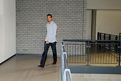28-09-2008 VOLLEYBAL: BESTE SPELER 2007 - 2008: APELDOORN<br /> Tussen de twee wedstrijden in werd de beste speler speelster in zijn categorie gekozen / Lars Lorsheijd, beste speler<br /> 2008-WWW.FOTOHOOGENDOORN.NL