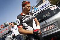 Sykkel<br /> 05.04.2009<br /> Foto: Photonews/Digitalsport<br /> NORWAY ONLY<br /> <br /> Meerbeke - Ninove - Belgie - wielrennen - cycling - radsport - cyclisme - Ronde van Vlaanderen 2009  - Thor Hushovd (Noorwegen / Team Cervélo)