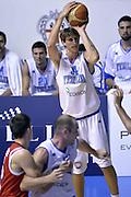 DESCRIZIONE : Qualificazioni EuroBasket 2015 Italia-Svizzera<br /> GIOCATORE : Achille Polonara<br /> CATEGORIA : nazionale maschile senior A<br /> GARA : Qualificazioni EuroBasket 2015 - Italia-Svizzera<br /> DATA : 17/08/2014<br /> AUTORE : Agenzia Ciamillo-Castoria
