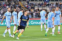 Esultanza Gol Marco Andreolli Inter Goal celebration <br /> Roma 21-05-2017 Stadio Olimpico Football Calcio Serie A 2016/2017 Lazio - Inter Foto Andrea Staccioli / Insidefoto