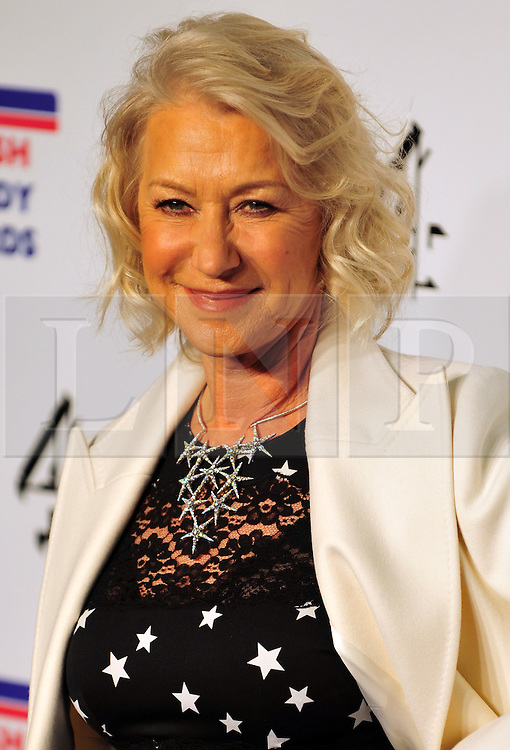 © Licensed to London News Pictures. 16/12/2011. London, England.Dame Helen Mirren  attends the Channel 4 British Comedy Awards  in Wembley London .  Photo credit : ALAN ROXBOROUGH/LNP