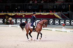 Carrascosa Borja, ESP, Foco Loco W<br /> MEVISTO Amadeus Horse Indoor Salzburg<br /> © Hippo Foto - Stefan Lafrentz<br /> 11-12-2016
