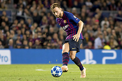 October 24, 2018 - Barcelona, Catalonia, Spain - Ivan Rakitic during the UEFA Champion Leage match between FC Barcelona and Internazionale Milano at Camp Nou Stadium in Barcelona, Catalonia, Spain on October 24, 2018  (Credit Image: © Miquel Llop/NurPhoto via ZUMA Press)