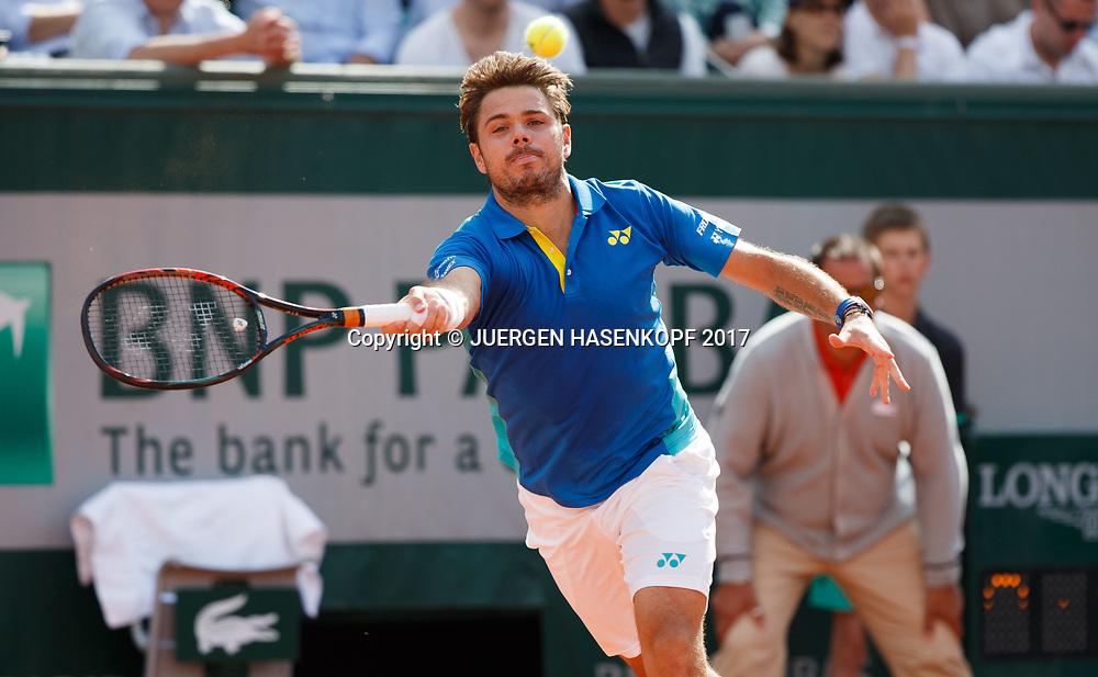 STAN WAWRINKA (SUI)<br /> <br /> Tennis - French Open 2017 - Grand Slam / ATP / WTA / ITF -  Roland Garros - Paris -  - France  - 7 June 2017.