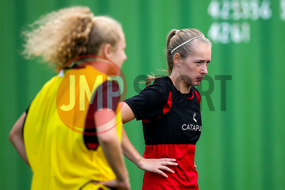 Flo Allen of Bristol City Women during training at Failand - Mandatory by-line: Robbie Stephenson/JMP - 26/09/2019 - FOOTBALL - Failand Training Ground - Bristol, England - Bristol City Women Training