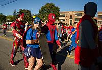 Laconia Homecoming Parade, Karen Bobotas for the Laconia Daily Sun