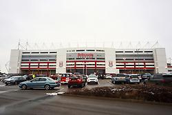 A general view of the Britannia Stadium  - Mandatory byline: Matt McNulty/JMP - 17/01/2016 - FOOTBALL - Britannia Stadium - Stoke, England - Stoke City v Arsenal - Barclays Premier League