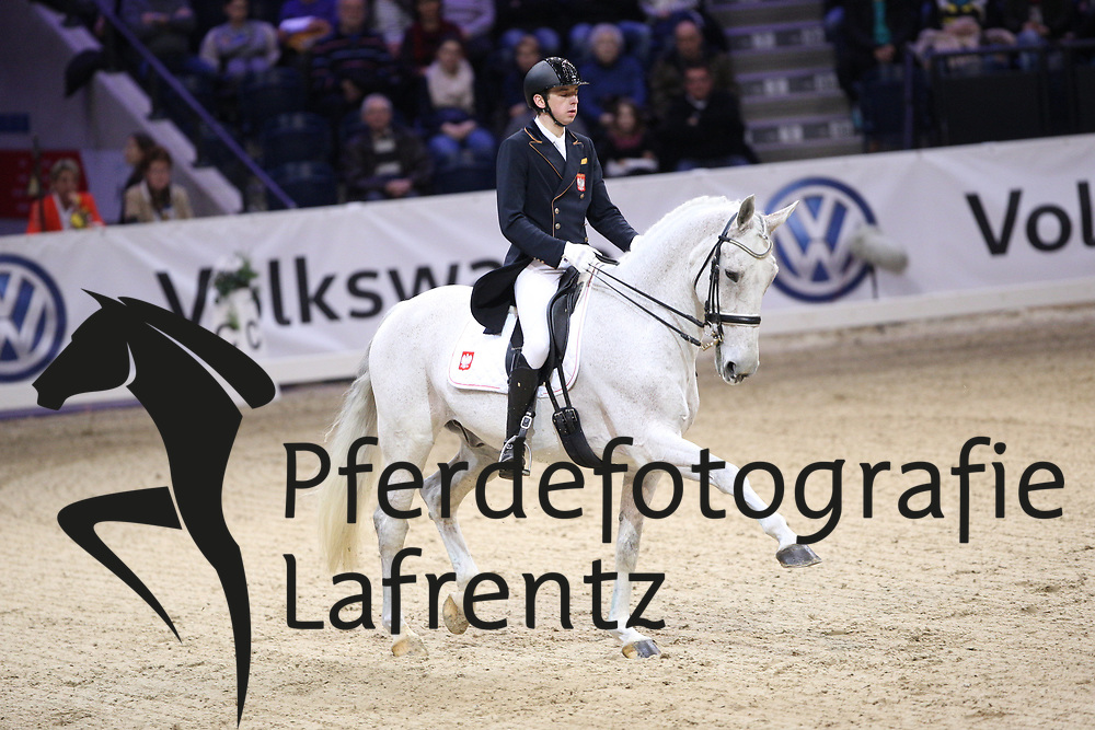 Jasinski, Tomasz (POL), Teo<br /> Braunschweig - Löwen Classics 2016<br /> Grand Prix Kür<br /> © www.sportfotos-lafrentz.de / Stefan Lafrentz