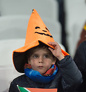 London, Great Britain, Halloween and Rugby, South Africa vs Argentina. 2015 Rugby World Cup, Bronze Medal Match.Queen Elizabeth Olympic Park. Stadium, Stratford. East London. England,, Friday  30/10/2015. <br /> [Mandatory Credit; Peter Spurrier/Intersport-images]