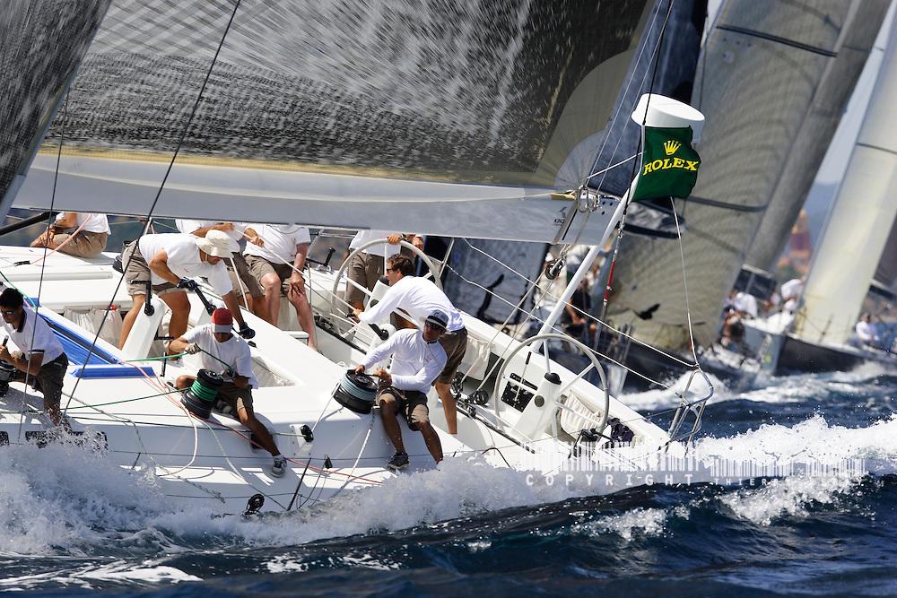 Giraglia Rolex Cup 2006. St Tropez. VOILE-EQUIPAGES-SAILING CREW-PART.1