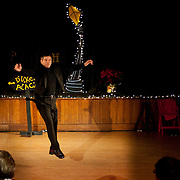 """Josh Hilberman performs in the show """"Ring in the Rhythm! A Jazz & Tap Holiday"""" at The Dance Hall in Kittery, ME"""