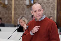 14.12.2010, Landtag, Graz, AUT, Sitzung des Steiermärkischen Landtags, im Bild LAbg. Werner Murgg (KPÖ), EXPA Pictures © 2010, PhotoCredit: EXPA/ Erwin Scheriau
