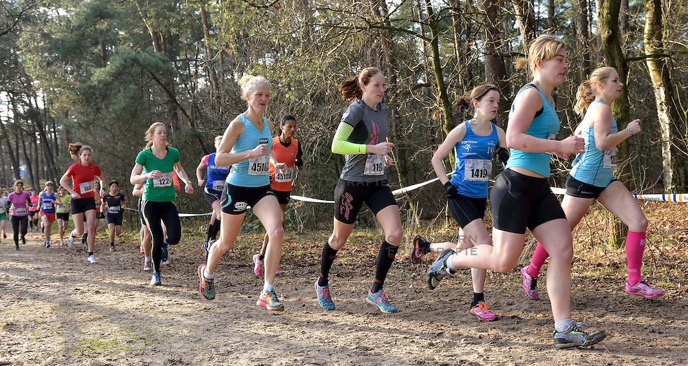31-12-2014 NED: Rabobank Sylvestercross, Soest<br /> Lopers, atleet op de 6 km