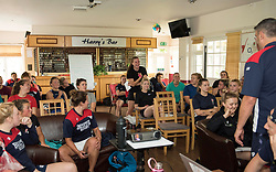Bristol Ladies head coach Kris de Scossa leads a coaching session during a weekend training camp - Mandatory by-line: Paul Knight/JMP - 29/07/2017 - RUGBY - Bristol Ladies Rugby pre-season training