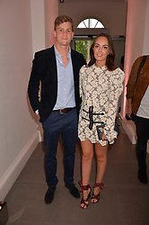 Lady Eliza Manners and Thor Winkler at the Tatler's English Roses 2017 party in association with Michael Kors held at the Saatchi Gallery, London England. 29 June 2017.<br /> Photo by Dominic O'Neill/SilverHub 0203 174 1069 sales@silverhubmedia.com