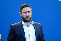 Bristol City head coach Lee Johnson  heads out to inspect the pitch - Mandatory by-line: Jason Brown/JMP - 29/04/2017 - FOOTBALL - Amex Stadium - Brighton, England - Brighton and Hove Albion v Bristol City - Sky Bet Championship