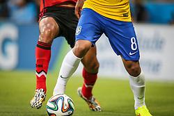Bola Brazuca, Oficial Copa do Mundo da FIFA 2014 no Estádio Nacional Mané Garrincha, em Brasília-DF. FOTO: Jefferson Bernardes/ Agência Preview