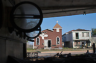 Nov. 06 2006,  Hurricane Katriana damage in New Orleans lower 9th Ward.