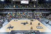 UNITED KINGDOM, London: 2015 World Wheelchair Rugby Challenge. Caption: Australia's Ryley Batt chases after the ball in a game against Japan. Rick Findler / Story Picture Agency