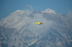 Helicopter during the Women's Elite Road Race a 156.2km race from Kufstein to Innsbruck 582m at the 91st UCI Road World Championships 2018 / RR / RWC / on September 29, 2018 in Innsbruck, Austria. Photo by Vid Ponikvar / Sportida