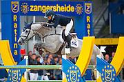 Jonna Ekberg - Jasmien van Bisschop<br /> FEI World Breeding Jumping Championships for Young Horses 2016<br /> © DigiShots